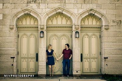 Kirsten and Karl Engagement Photo