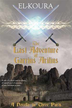 The Last Adventure of Garrius Arilius (ebook cover)