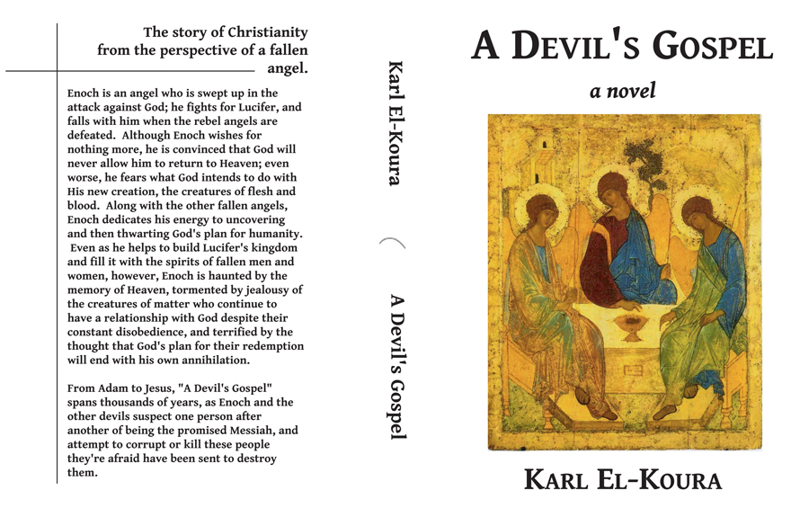 Old cover for A Devil's Gospel